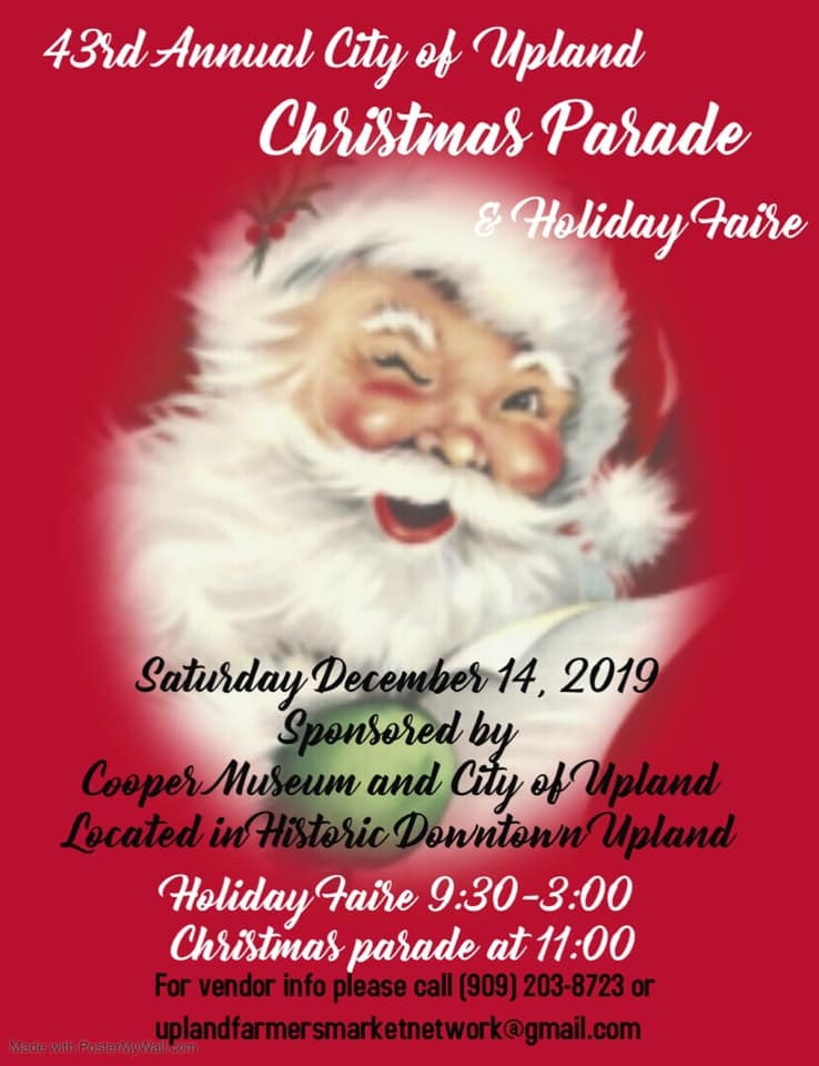 Upland Christmas Parade 2020 Past Events – Historic Downtown Upland